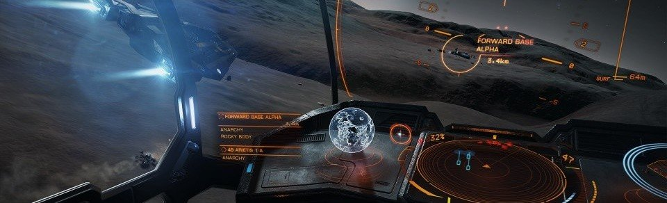 PRIMO VIDEO DEL COMBATTIMENTO SUI PIANETI DI ELITE DANGEROUS: HORIZONS