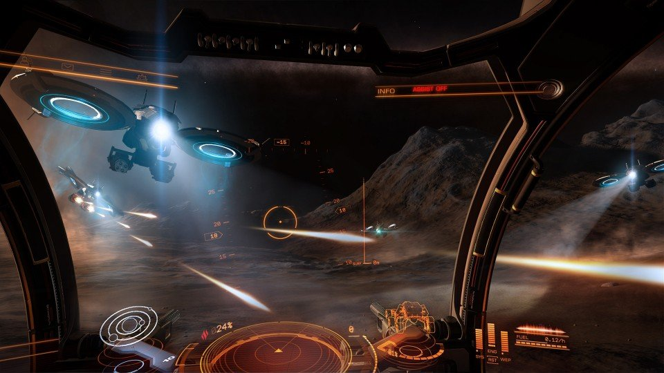 ELITE DANGEROUS: PRIMO VIDEO DEL PLANETARY LANDING
