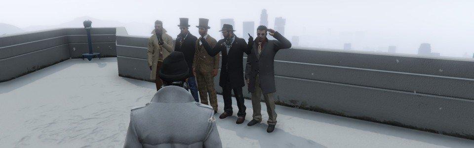 GTA Online e Red Dead Online: la neve arriva sui giochi Rockstar