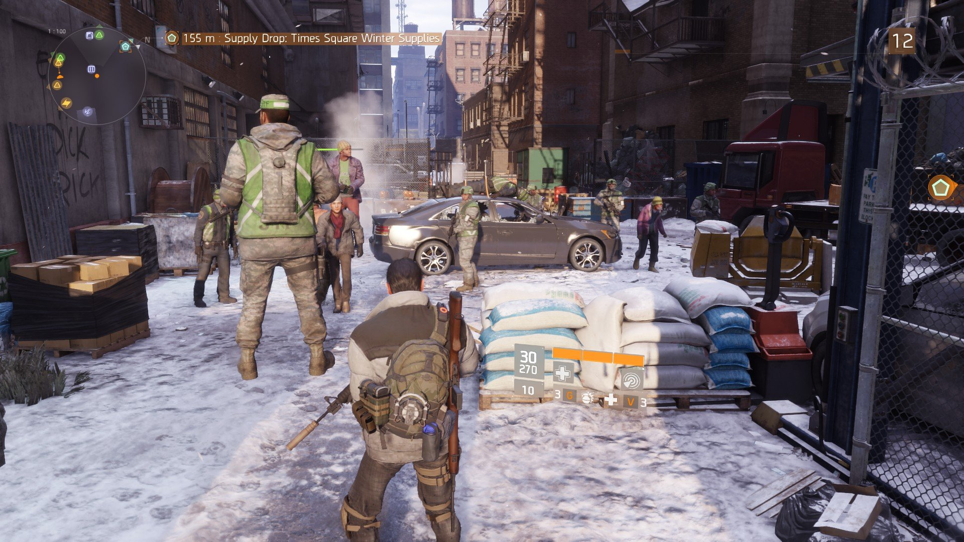 Tom Clancy's The Division bug