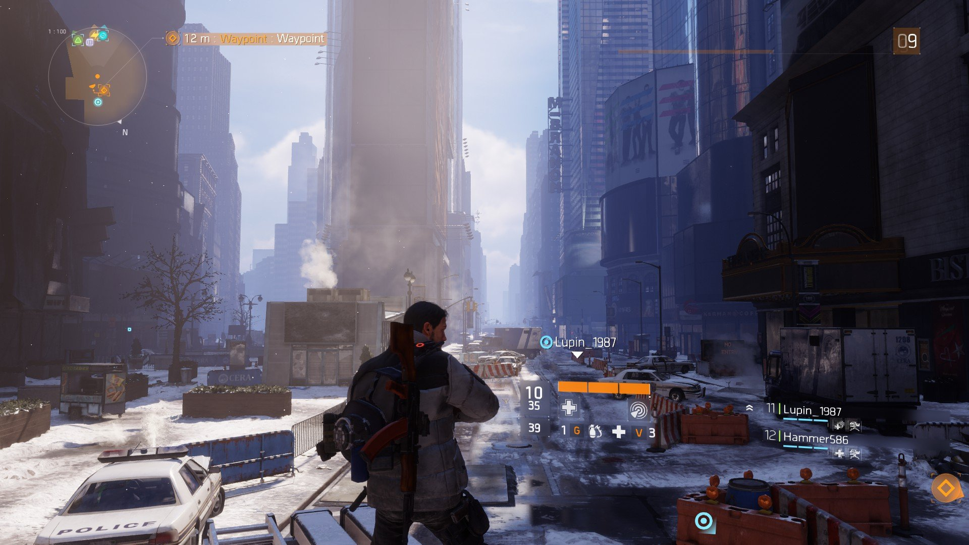 The Division Times Square