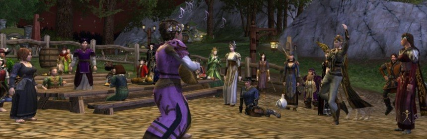 LORD OF THE RINGS ONLINE FESTEGGIA NOVE ANNI