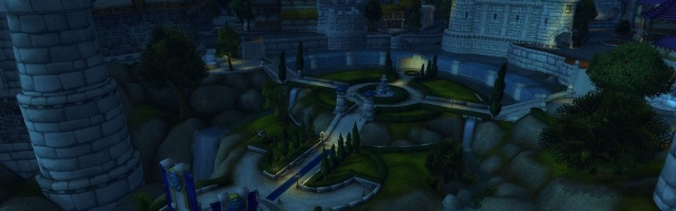 WORLD OF WARCRAFT: SGUARDO AL NUOVO PARCO DI STORMWIND