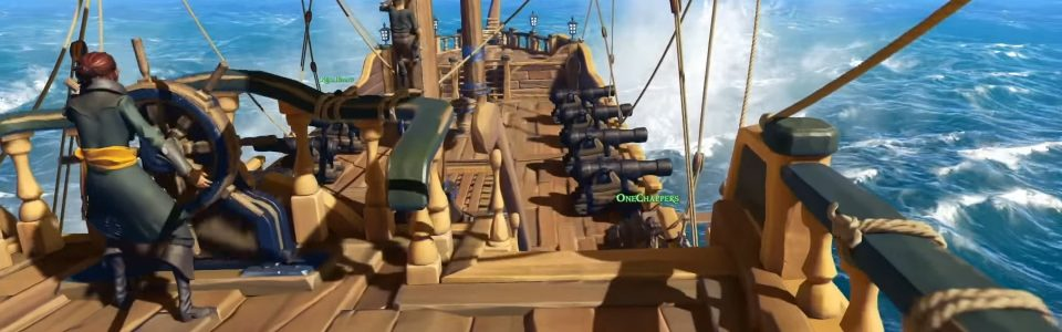 SEA OF THIEVES: NUOVI CINEMATIC E GAMEPLAY TRAILER