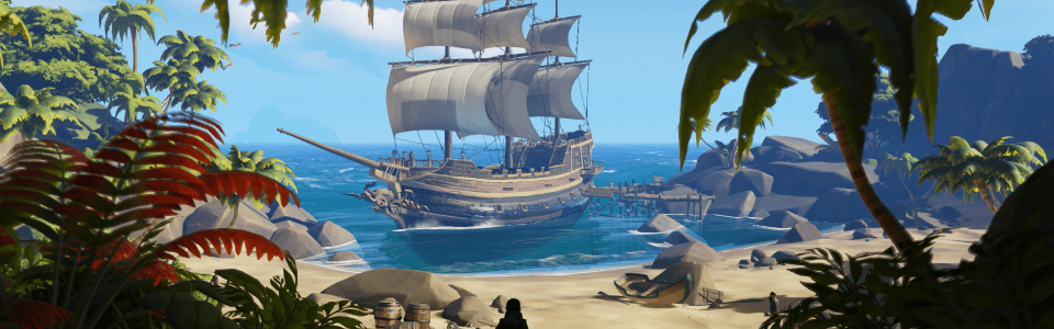 SEA OF THIEVES: LA TECHNICAL ALPHA STA PER PARTIRE