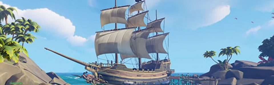 SEA OF THIEVES UFFICIALMENTE RIMANDATO AL 2017