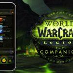 WORLD OF WARCRAFT: LEGION COMPANION APP ORA DISPONIBILE