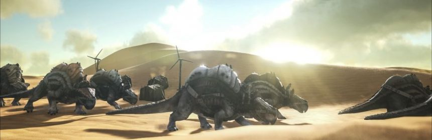 ARK: L'ESPANSIONE SCORCHED EARTH DISPONIBILE SU STEAM