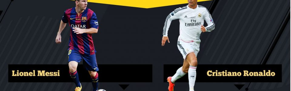 FIFA: MESSI VS RONALDO NEL CORSO DEGLI ANNI