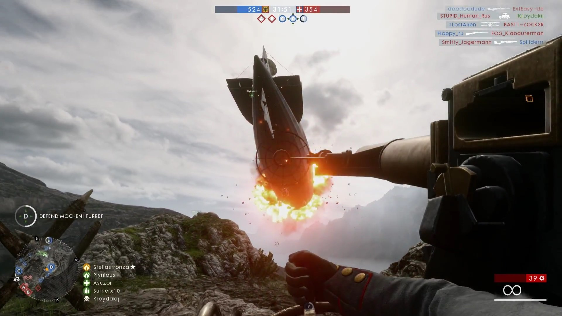 battlefield 1 recensione asczor airship