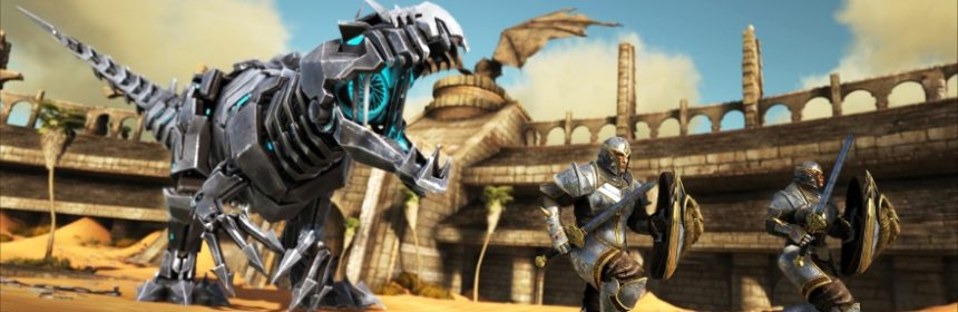 ARK: SURVIVAL EVOLVED IN USCITA SU PS4 CON SCORCHED EARTH