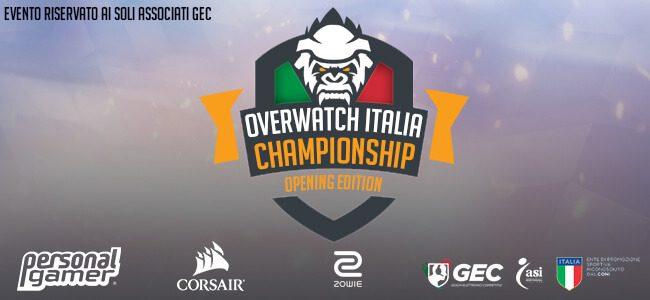 OVERWATCH: CAMPIONATO ITALIANO IN ARRIVO