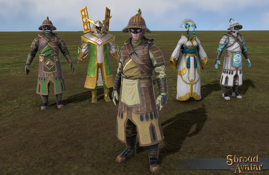 Shroud of the Avatar: nuovi modelli a tema orientale