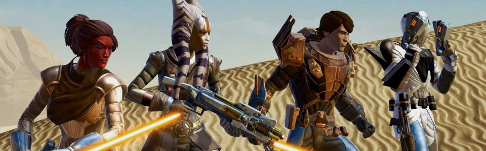 SWTOR: DISPONIBILE KNIGHTS OF THE ETERNAL THRONE