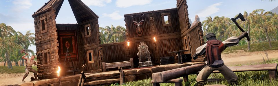 CONAN EXILES DISPONIBILE IN EARLY ACCESS, ROADMAP PER I PROSSIMI MESI