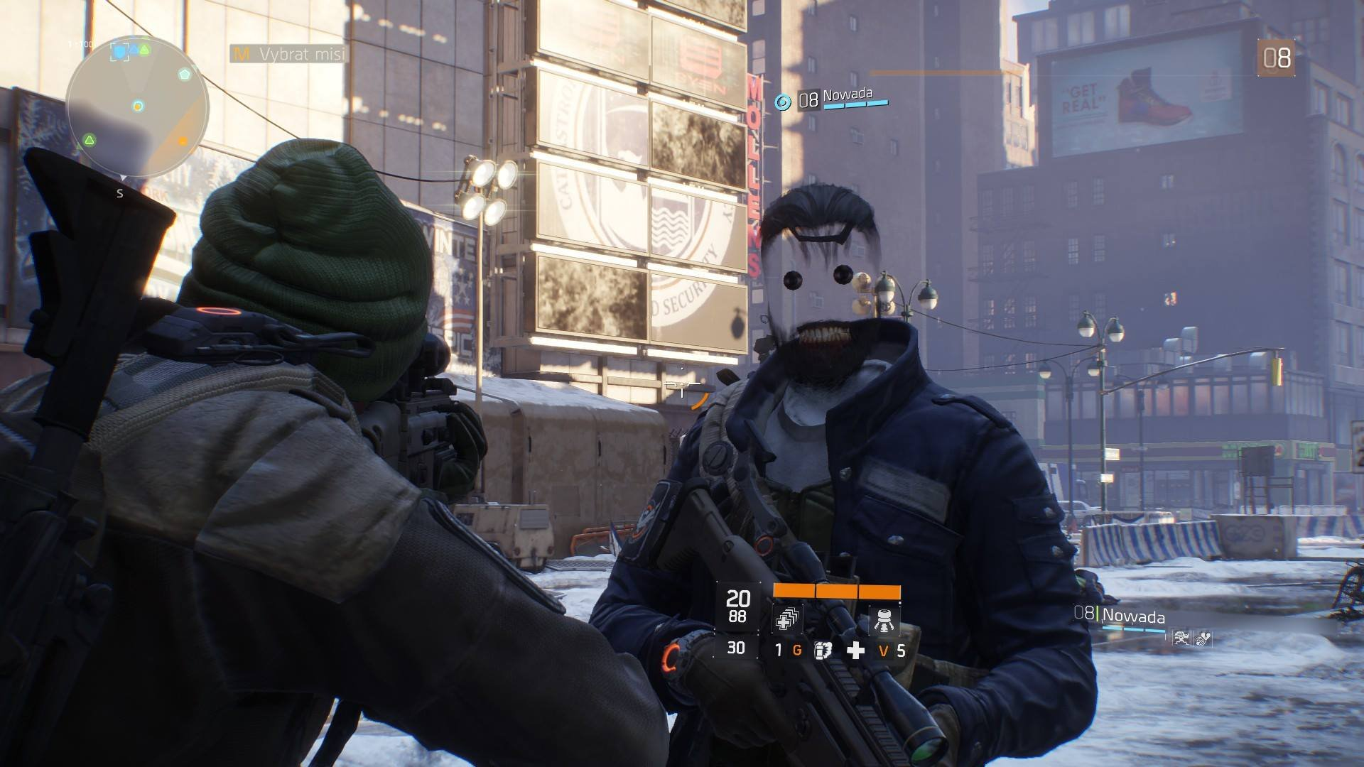 oscar trash The Division