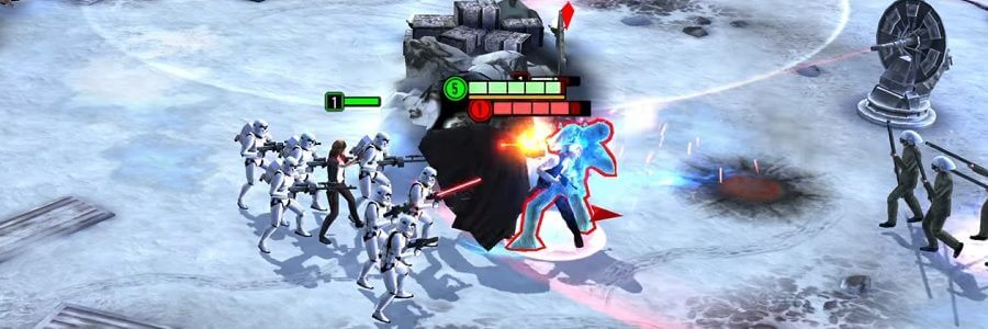 STAR WARS FORCE ARENA DISPONIBILE GRATUITAMENTE SU IOS E ANDROID