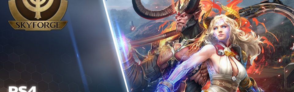 SKYFORGE IN ARRIVO SU PLAYSTATION 4 IN PRIMAVERA