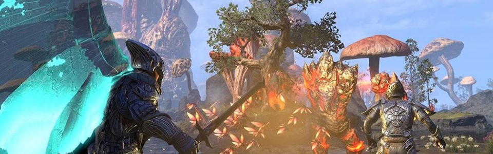 THE ELDER SCROLLS ONLINE: PRIMO GAMEPLAY TRAILER PER MORROWIND