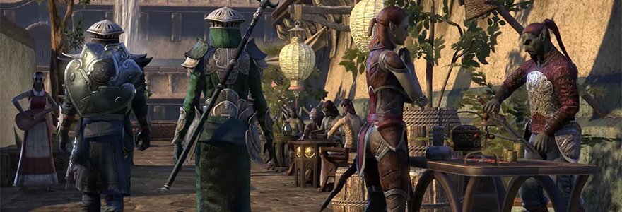 THE ELDER SCROLLS ONLINE: VIDEO TOUR DELLE AREE DI MORROWIND