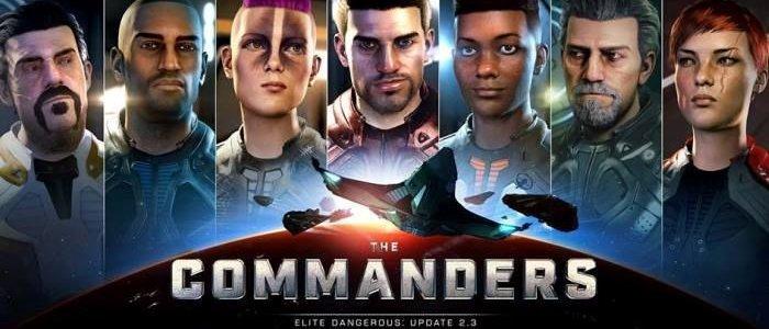 ELITE DANGEROUS: UPDATE 2.3 THE COMMANDERS GIA' DISPONIBILE