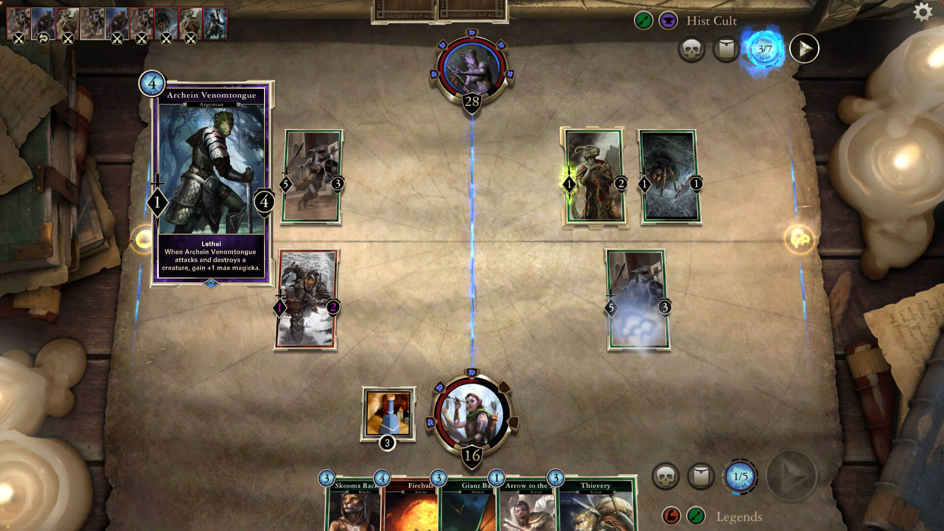 The Elder Scrolls Legends free to play