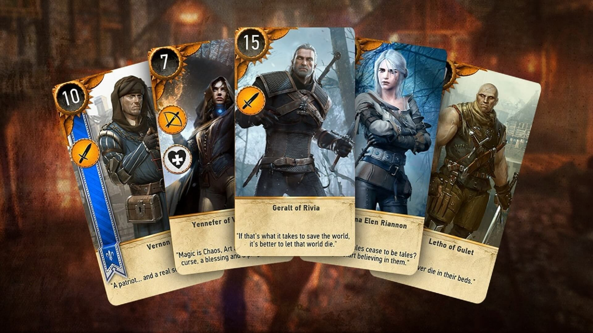 migliori MMO gratis MMORPG gratis GWENT The Witcher card game 1