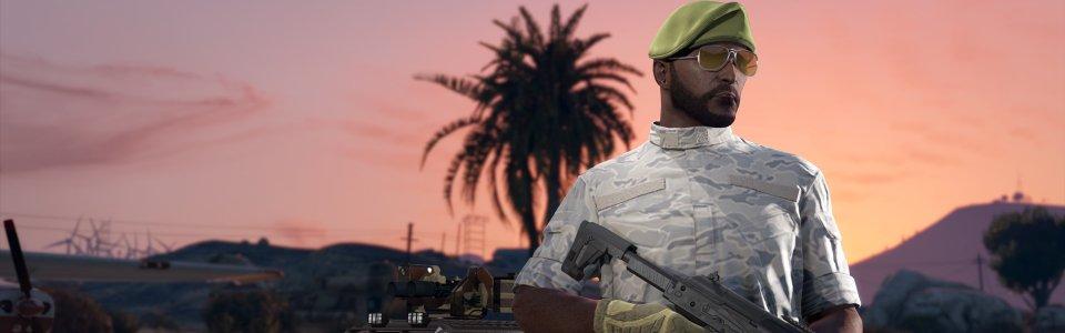 GTA ONLINE traffico d'armi