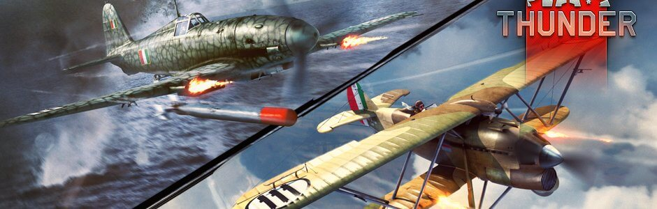 war thunder italian air force