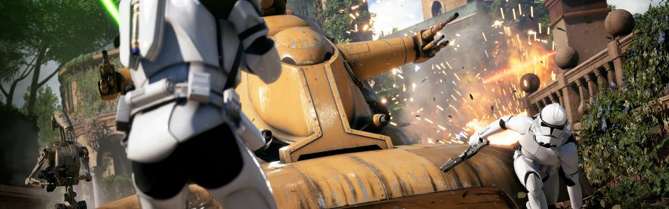 STASERA STREAMING DELLA BETA DI STAR WARS BATTLEFRONT 2