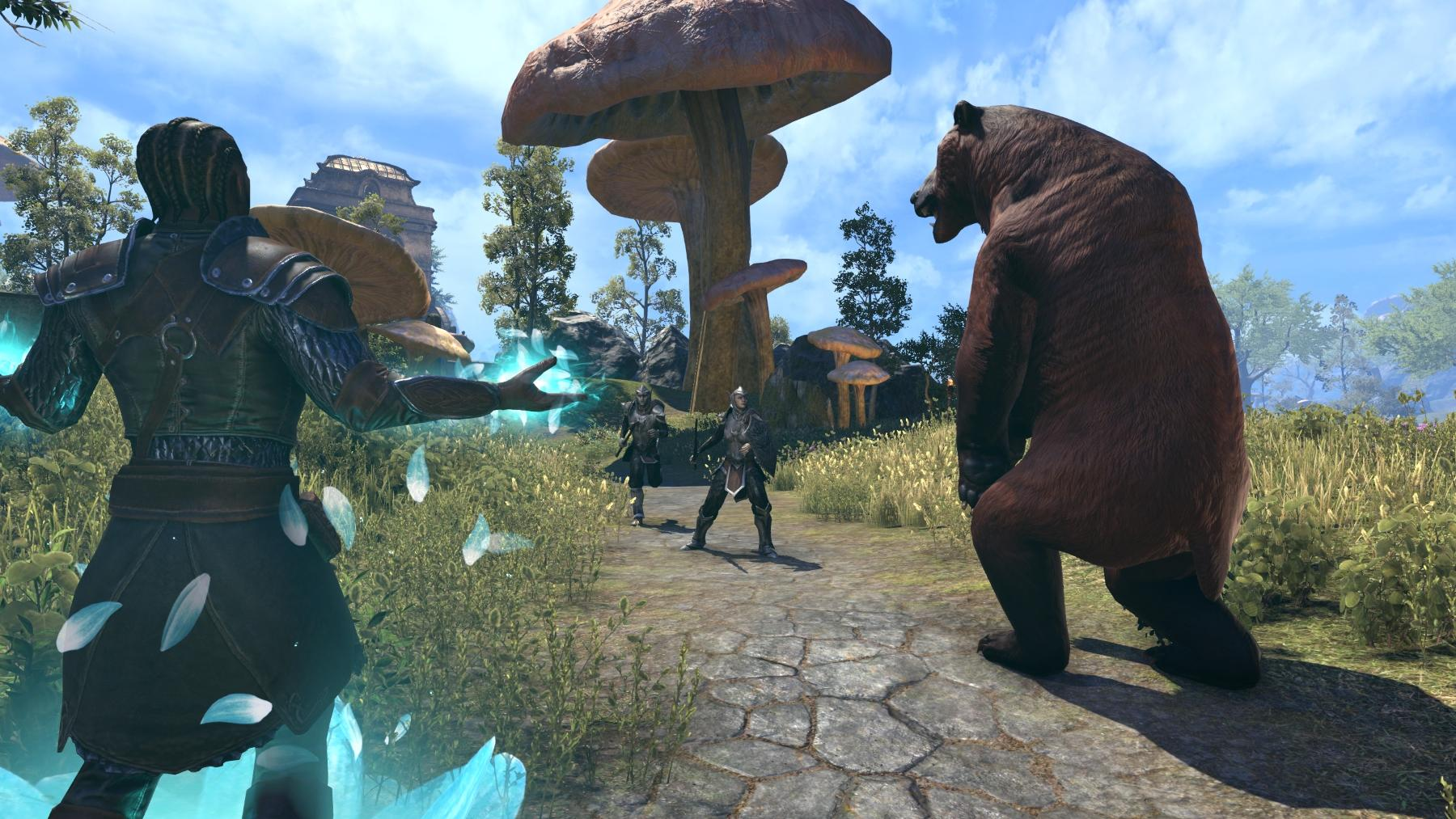 THE ELDER SCROLLS ONLINE MORROWIND recensione intervista