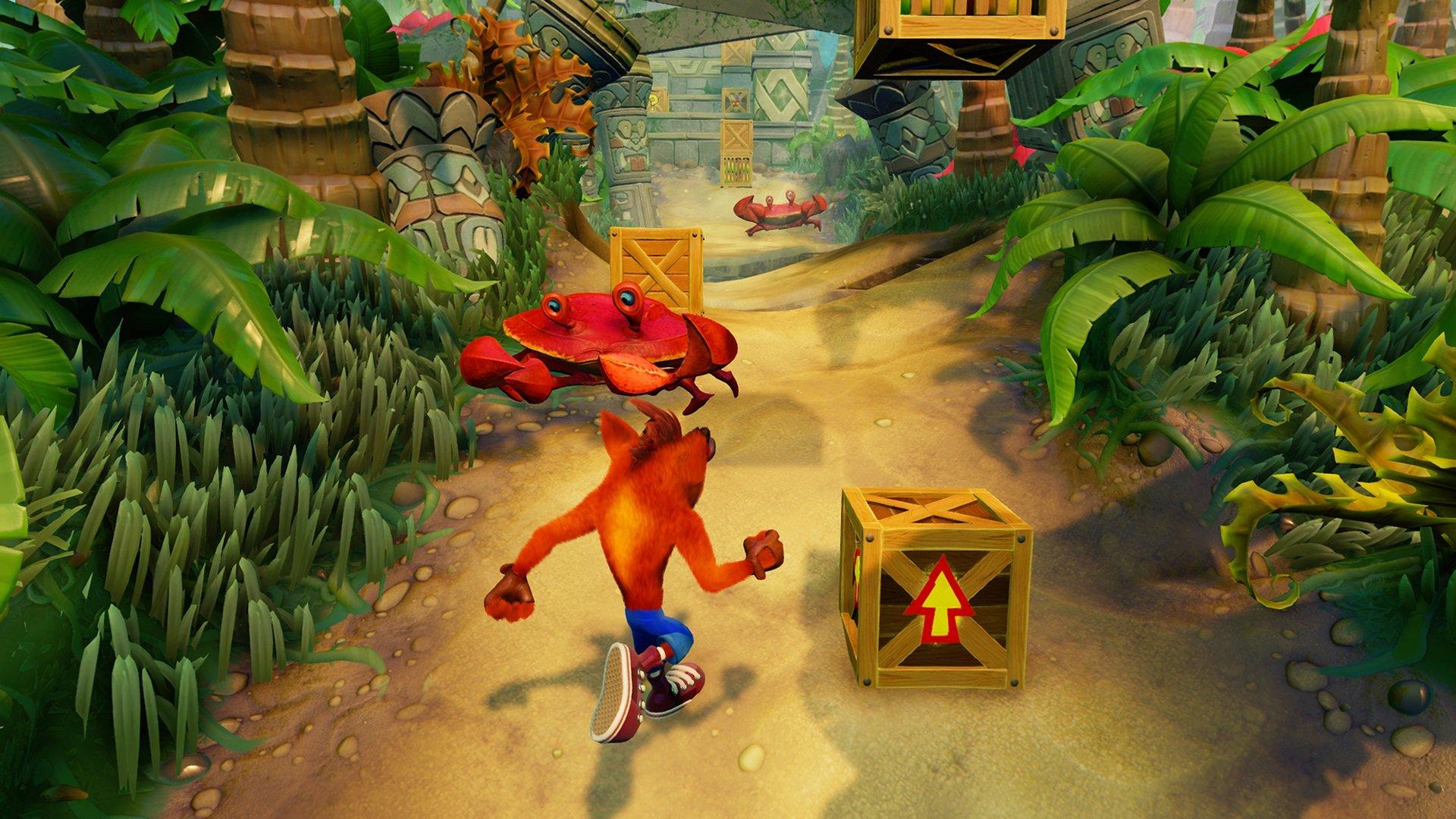 Crash Bandicoot N. Sane Trilogy remastered
