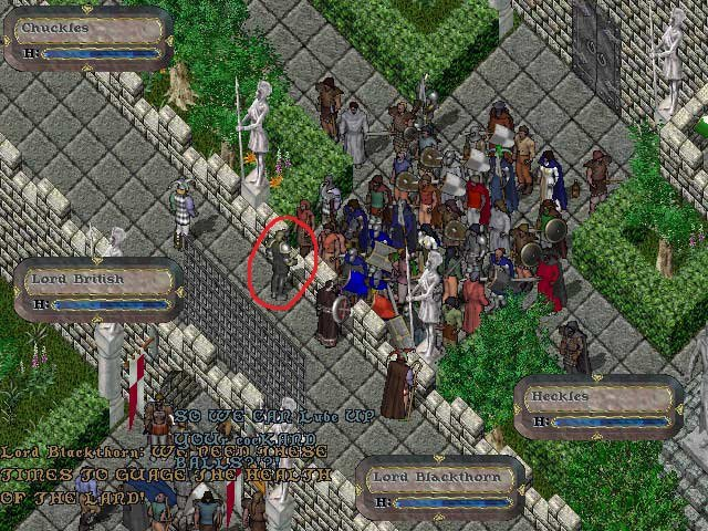 ultima online Lord British richard garriott