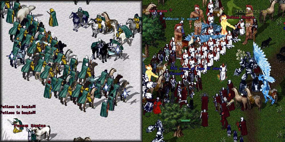 ultima online the miracle eserciti