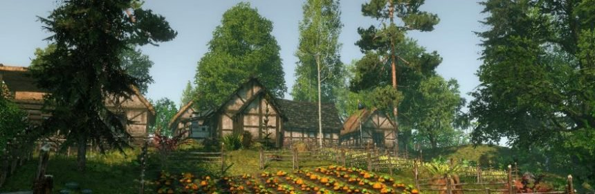 LIFE IS FEUDAL MMO: OPEN BETA SU STEAM, UN TICKET PER I GIOCATORI DI YOUR OWN