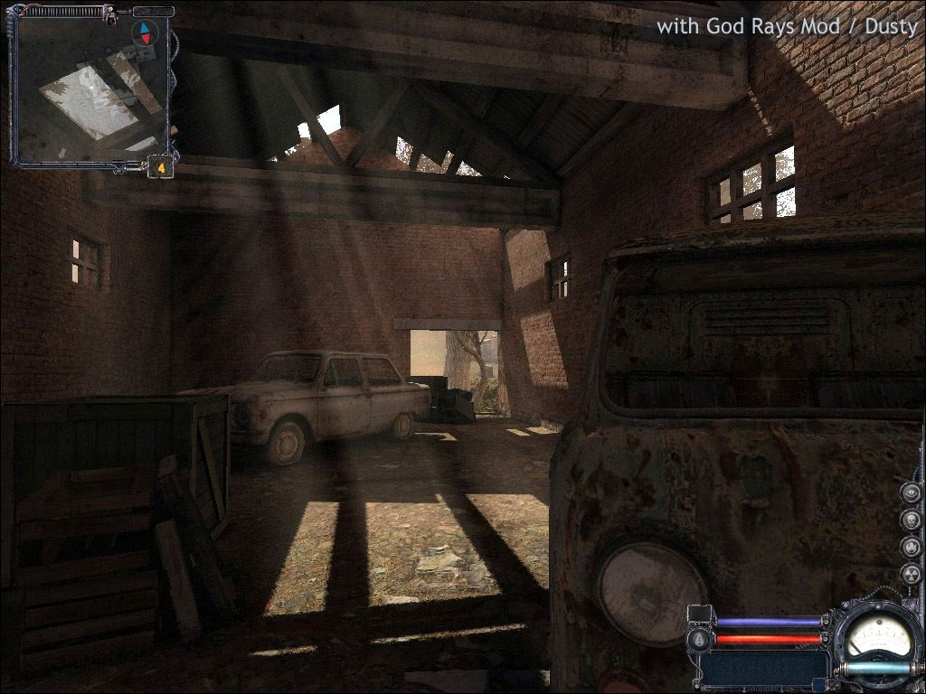 grafica videogiochi stalker clear sky