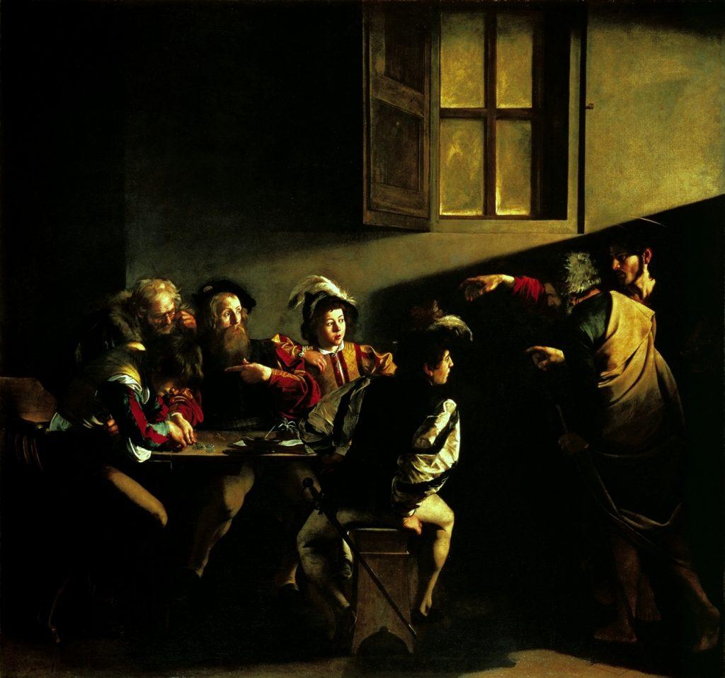grafica videogiochi Caravaggio