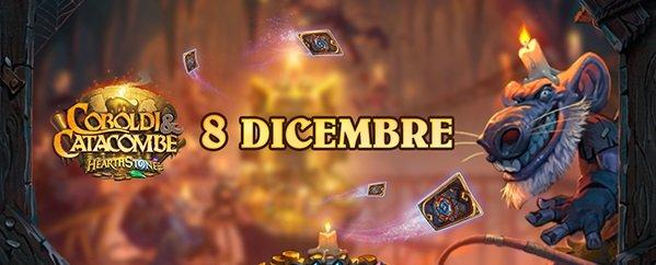 Hearthstone: Coboldi & Catacombe uscirà l'8 dicembre, tre espansioni previste nel corso del 2018