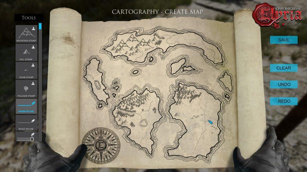 Chronicles of Elyria - Mappa