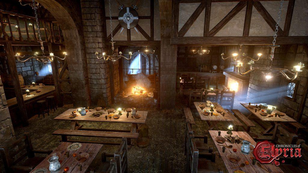 Chronicles of Elyria - taverna