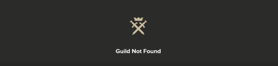 Bacheca Gilde – Guild Not Found per Albion Online