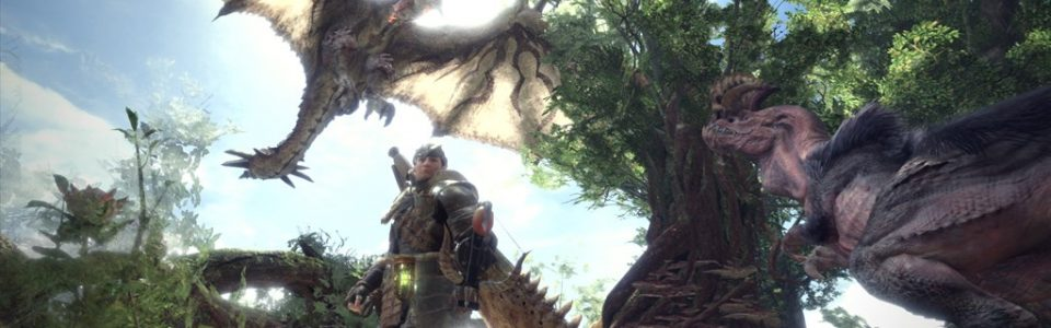 Monster Hunter World disponibile su PC via Steam
