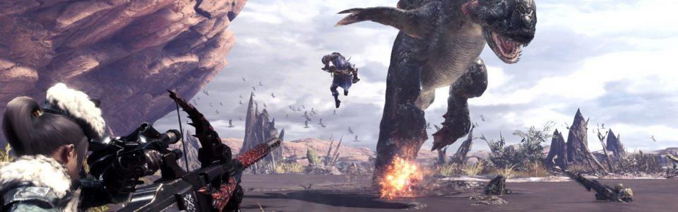 Monster Hunter World uscirà il 26 gennaio su console e in autunno su PC