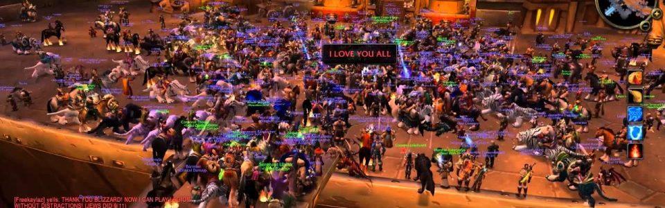 Secondo Blizzard, World of Warcraft Classic è un atto d'amore per i fan