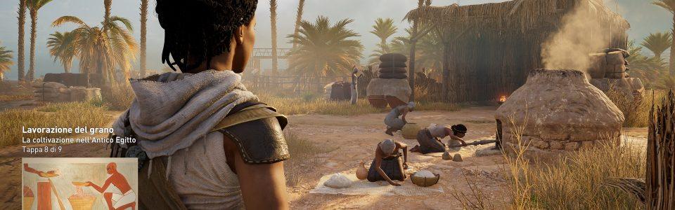 Assassin's Creed Origins: Discovery Tour disponibile da oggi, ecco il trailer di lancio