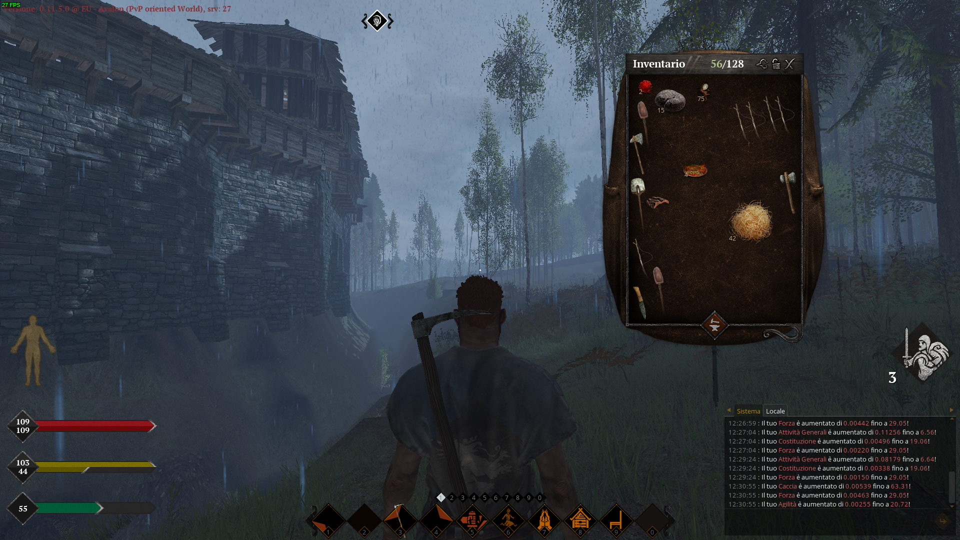 Life is Feudal MMO recensione early access steam