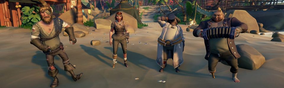 Sea of Thieves: Disponibile la patch 1.0.7, aggiunte le ciurme chiuse e non solo