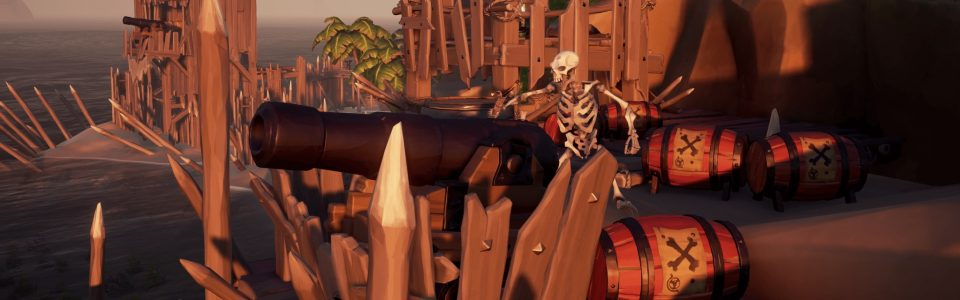 Sea of Thieves: in arrivo il nuovo evento Black Powder Stashes