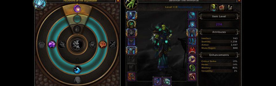 World of Warcraft: Anteprima del Cuore di Azeroth, il nuovo amuleto in arrivo con l'espansione