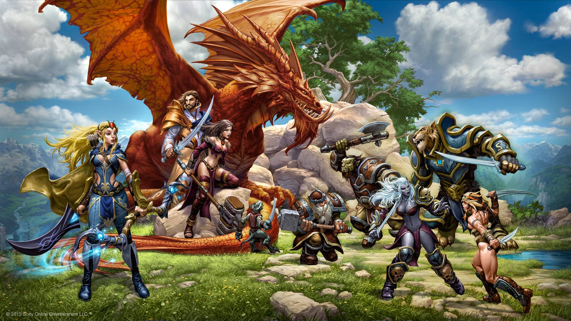 daybreak games EverQuest Next